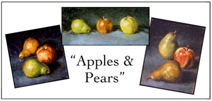 Apple & Pear Notecard Set, Will Kefauver