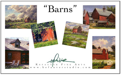 Barns I Notecard Set, Will Kefauver