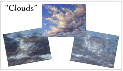 Clouds Notecard Set, Will Kefauver