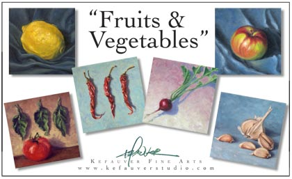 Fruit n Vegetables Notecard Group
