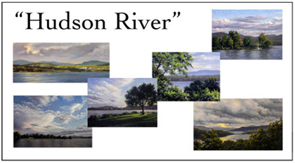 Hudson River Scenes Notecard Set, Will Kefauver