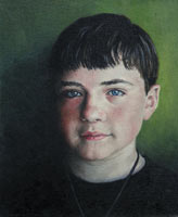 Jack at 13, portrait