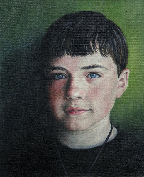 Jack at 14, portrait