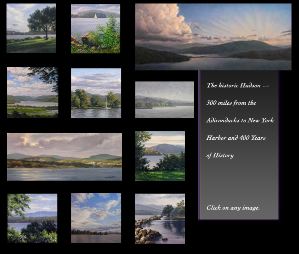 Will Kefauver, Paintings of the Hudson River