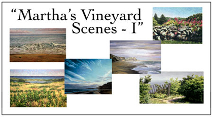 Martha's Vineyard Scenes Notecard Set, Will Kefauver