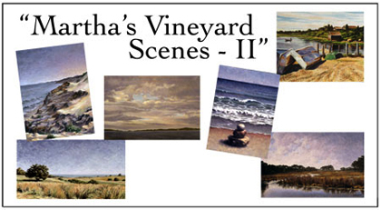 Martha's Vineyard Scenes II Notecard Set, Will Kefauver
