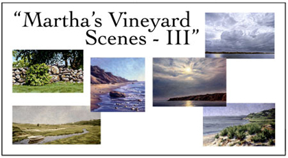 Martha's Vineyard Scenes III Notecard Set, Will Kefauver