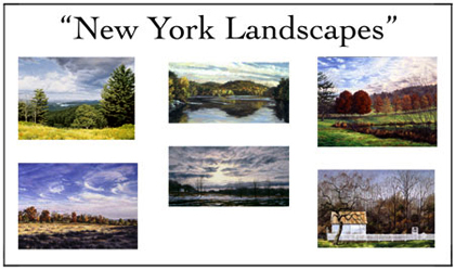 New York Landscapes Notecard Set, Will Kefauver