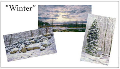 Winter Scenes Notecard Set, Will Kefauver