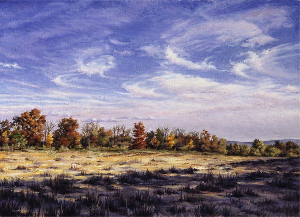 "Will Kefauver, Painting, ""Hanover Meadow II"""