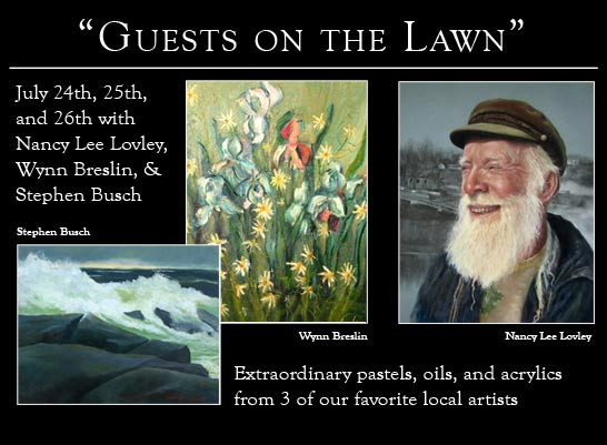 Kefauver Studio & Gallery Guests on the Lawn July 2015