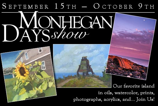 2017 Monhegan Days Art Show