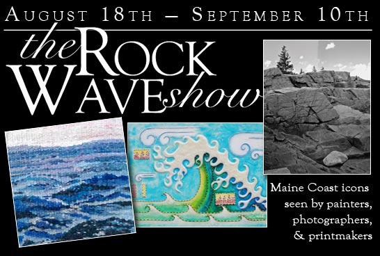 Rock 'n' Wave art show