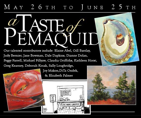 A Taste of Pemaquid art show blurb