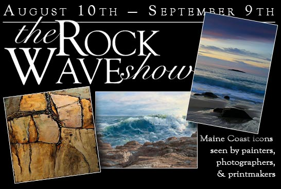 Kefauver Studio & Gallery Rock 'n' Wave Show graphic